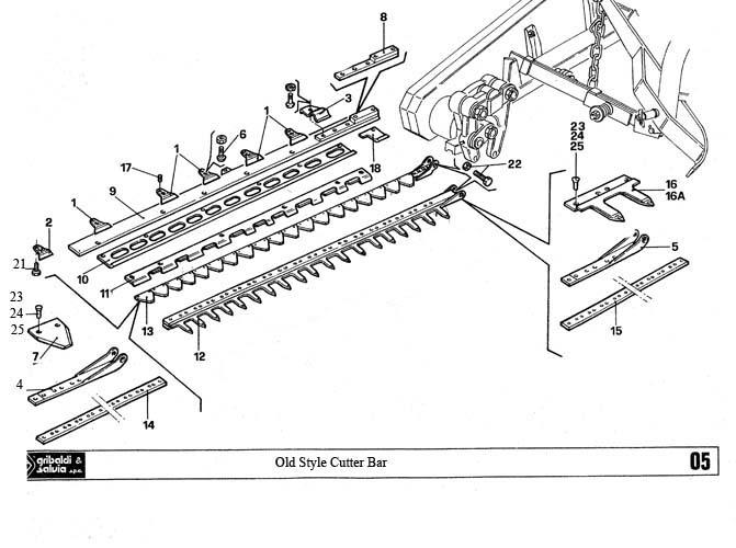 ford 501 sickle mower diagram