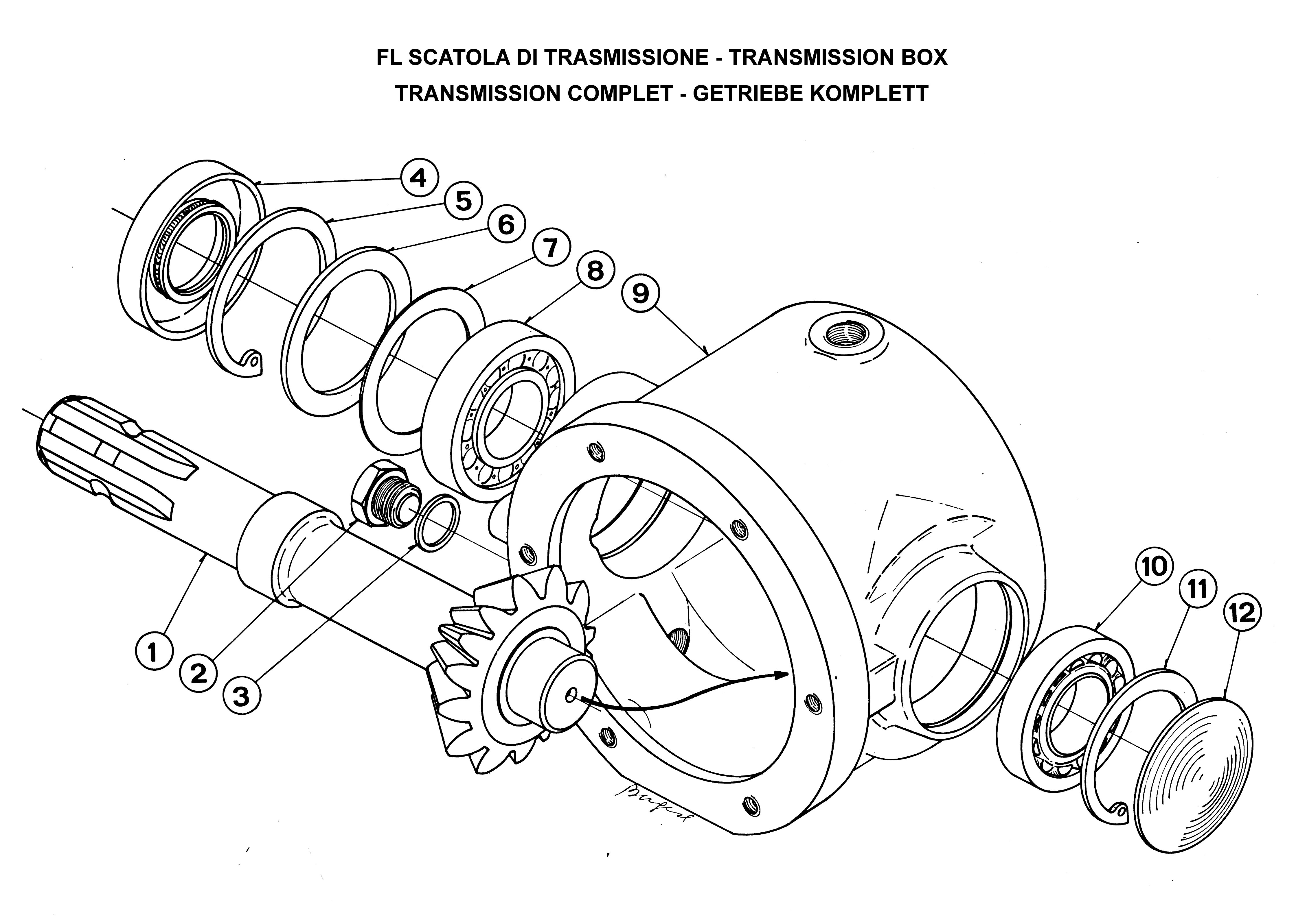 land pride mower parts diagram